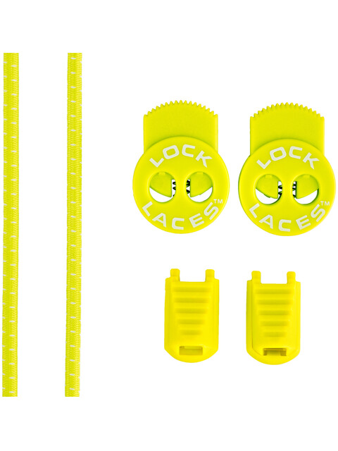 Lock Laces Run Laces Safety Yellow